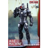 Marvel Civil War: Diecast War Machine Mark III Sixth scale Figure