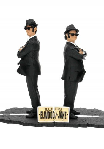 The Blues Brothers: Jake and Elwood 17 cm - 2 Figures Set