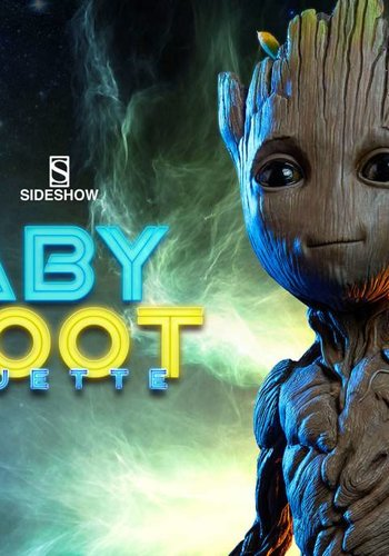 Marvel: GotG 2 - Baby Groot Life Sized Maquette