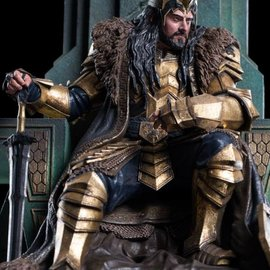 WETA Workshops The Hobbit: King Thorin on Throne 1:6 Scale Statue