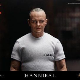Blitzway Silence of the Lambs: Hannibal Lecter White Prison Uniform ver. 1:6