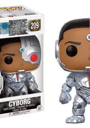 Pop! Dc: Justice League Movie - Cyborg