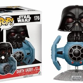 FUNKO Pop! Star Wars: Darth Vader with Tie Fighter LE