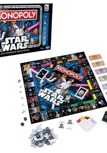 Star Wars: Monopoly 40th Anniversary Edition Game