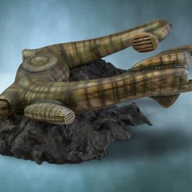 Sideshow Alien Derelict Ship Statue