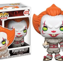 FUNKO Pop! Movie: IT - Pennywise with Boat