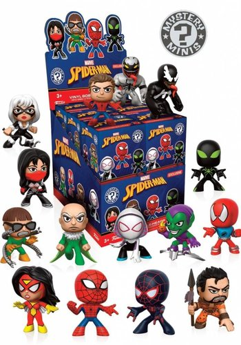 Mystery Mini: Spider-Man - Variant Mix 2 PRICE PER PIECE