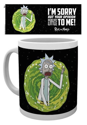 Rick and Morty Your Opinion - Mok