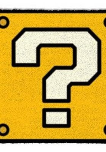 Super Mario Question Mark Block - Deurmat