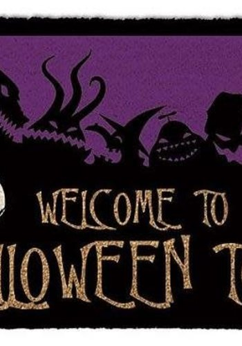 Nightmare Before Christmas Halloween Town - Deurmat
