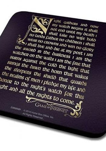 Game of Thrones Oath - Onderzetter