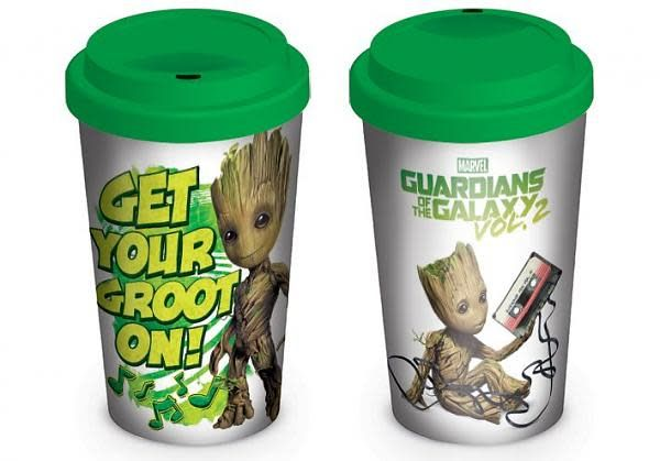 Hole In The Wall Guardians Of The Galaxy Vol.2 - Travel Mug