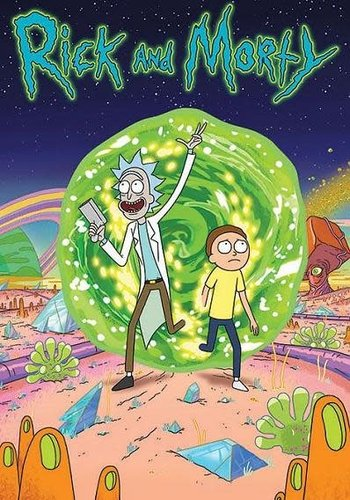 Rick and Morty Portal - Maxi poster