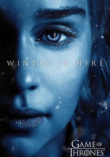 Game of Thrones Winter is Here Daenerys - Maxi Poster