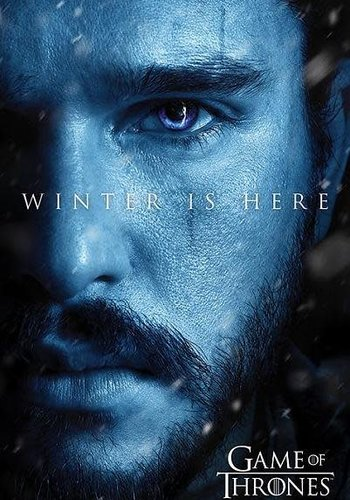 Game of Thrones Winter is Here Jon - Maxi Poster