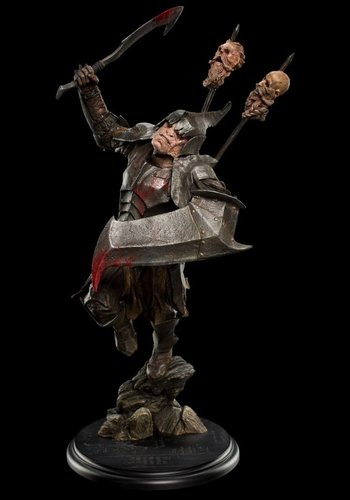 The Hobbit: Dol Guldur Orc Soldier 1:6 Scale Statue
