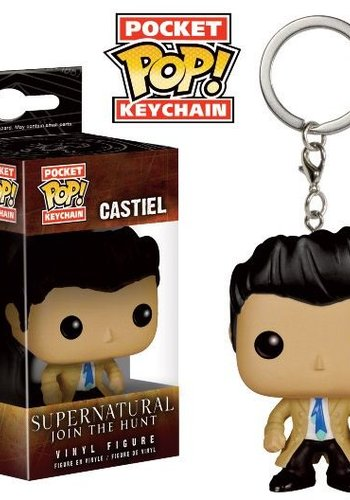 Pocket Pop! Keychains: Supernatural - Castiel