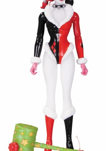 DC Comics: Designer Series Conner - Holiday Harley Quinn Action Figure