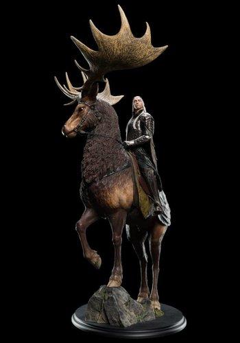 Thranduil on Elk - Weta
