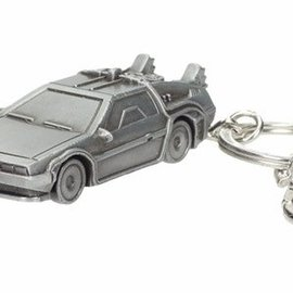 Back To The Future: Delorean 3D Metal Keychain
