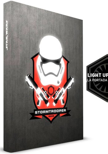 Star Wars The Force Awakens: Stormtrooper Helmet Notebook
