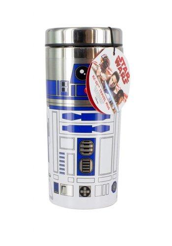 Star Wars The Last Jedi: R2 D2 Character Travel Mug