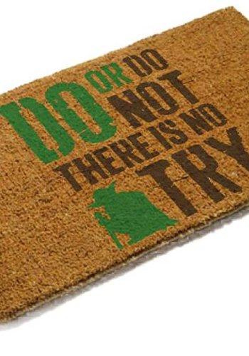 Star Wars: Yoda Do Or Do Not Doormat