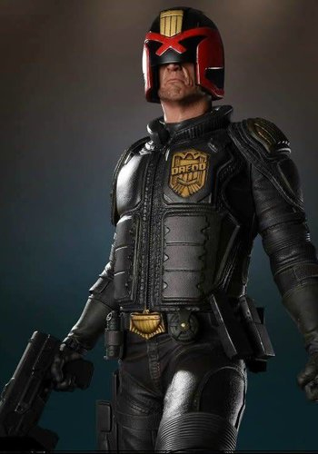 Regular Judge Dredd 1:4 Statue 2000 AD  Pop Culture Shock Toys
