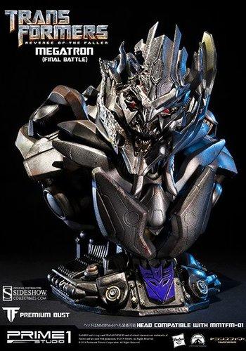 Megatron (Final Battle Version) Prime 1 bust (Display model)