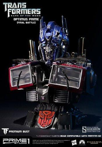 Optimus Prime (Final Battle Version) Bust by Prime 1 Studio (Display model)