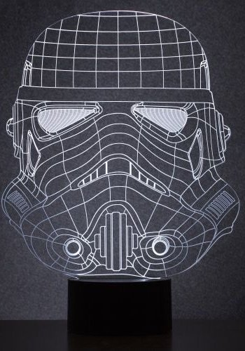 Stormtrooper Wire lamp