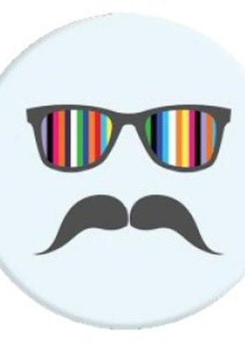 Popsockets: Mustache Rainbow