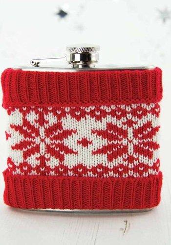 Christmas Jumper Hip Flask