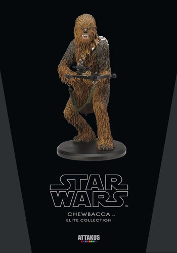 Star Wars: Chewbacca 22 cm Statue Limited Elite Collection