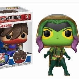 Pop! Marvel and Capcom: Gamora vs Strider 2-Pack