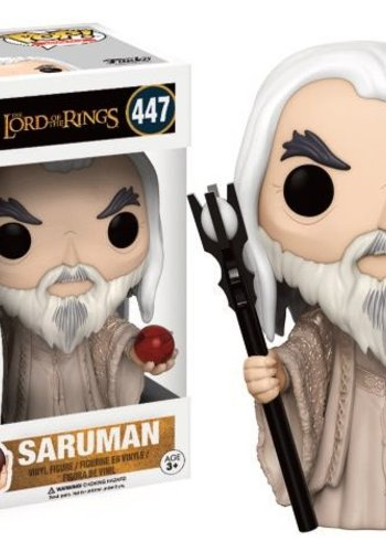 FUNKO Pop! Movies: Lord of The Rings - Saruman