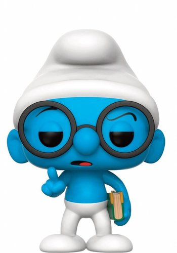 Pop! Cartoons: The Smurfs - Brainy Smurf