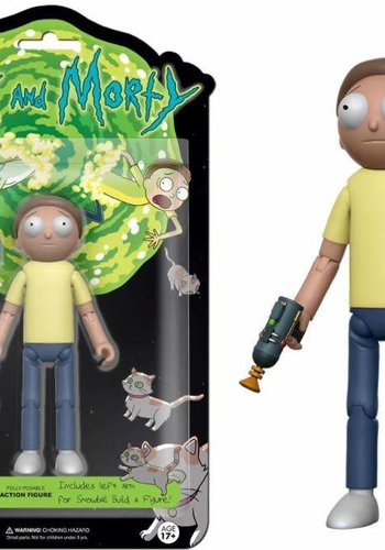 Rick and Morty Action Figures: Morty