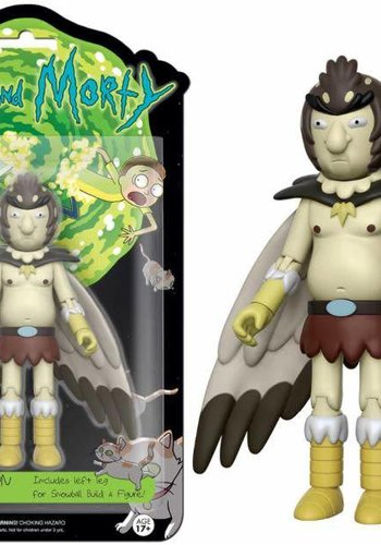 Rick and Morty Action Figures: Bird Person