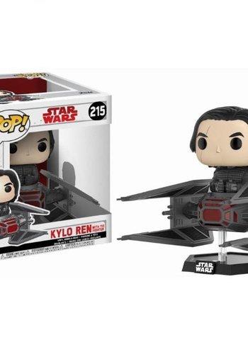 Pop! Ridez: Star Wars The Last Jedi - Kylo Ren on TIE Fighter