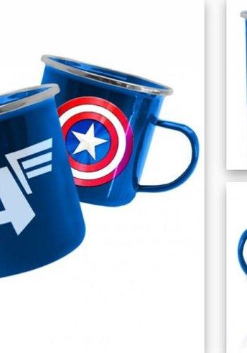 Marvel: Avengers Captain America Tin Mug