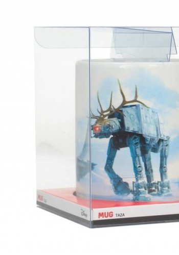 Star Wars The Last Jedi: AT-AT Reindeer Christmas Mug