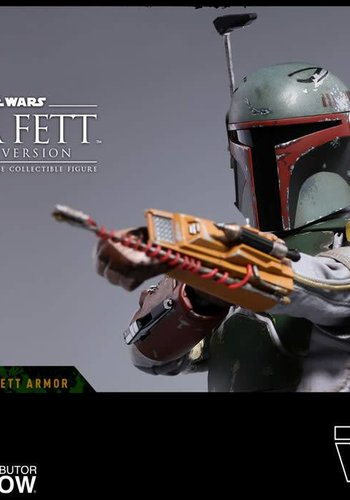 Star Wars: The Empire Strikes Back - Deluxe Boba Fett 1:6 Scale Figure