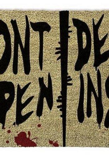 The Walking Dead Dont Open Dead Inside - Doormat