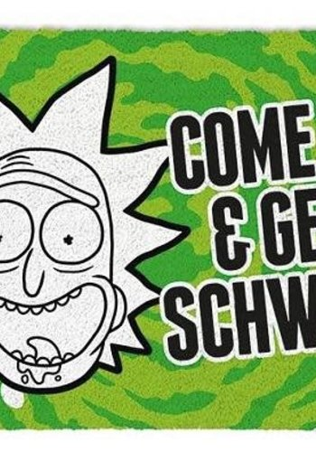 Rick and Morty Get Schwifty - Deurmat