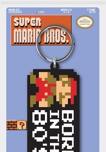 Super Mario Bros: Born in the 80's Keychain