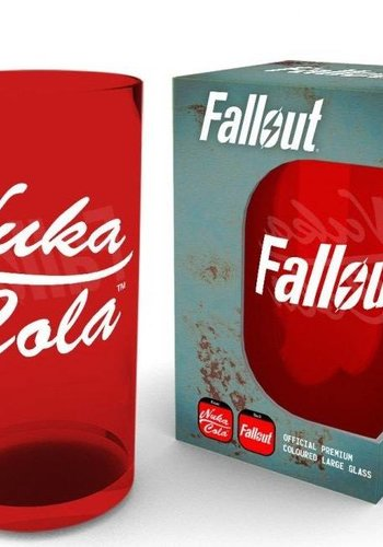 Fallout: Nuka Cola Premium Large Coloured Glass