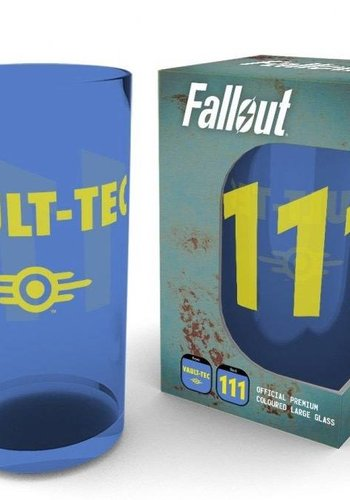 Fallout: Vault 111 Premium Large Coloured Glass