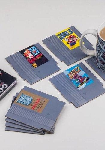 Nintendo: NES Cartridge Coasters