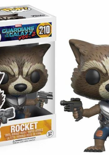 Pop! Marvel: Guardians of the Galaxy 2 - Rocket LE